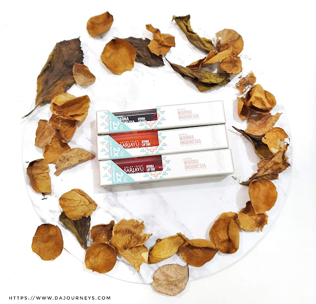 Review Sariayu Hydra Liptint All Shades