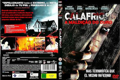 Filme Calafrios A Maldição do Ouro (Heebie Jeebies) DVD Capa