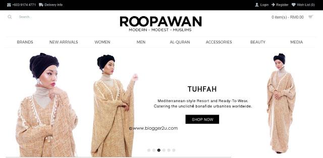 majlis pelancaran portal roopawan dan pertunjukkan fesyen lebaran