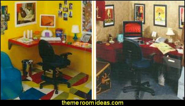 Decorating theme bedrooms Maries Manor office cubicle decorating