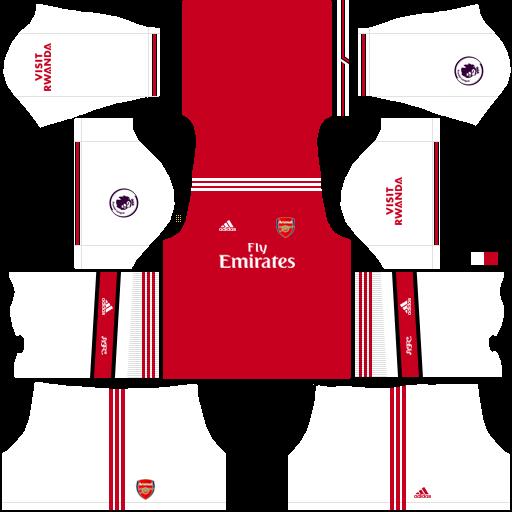 Kits Uniformes Para Fts 15 Y Dream League Soccer Kits Uniformes Arsenal Premier League 2019 2020 Fts 15 Dls