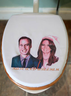 Prince William Kate Middelton toilet seat