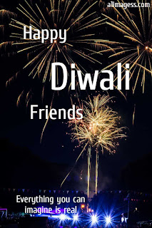 happy diwali  friends with quotes