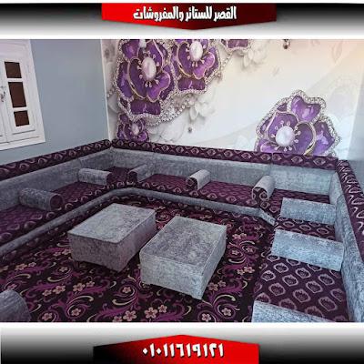 مجلس عربي موف مشجر قعدة عربي موف في سيفلر سادة