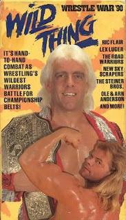 WCW Wrestlewar 1990 - Event Poster