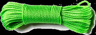 3mm green polycord
