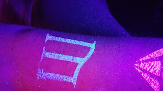 Custom Glitter Tattoo Glowing Mercury Lounge