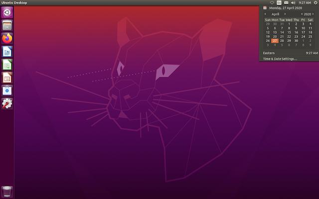Ubuntu 20.04 Unity