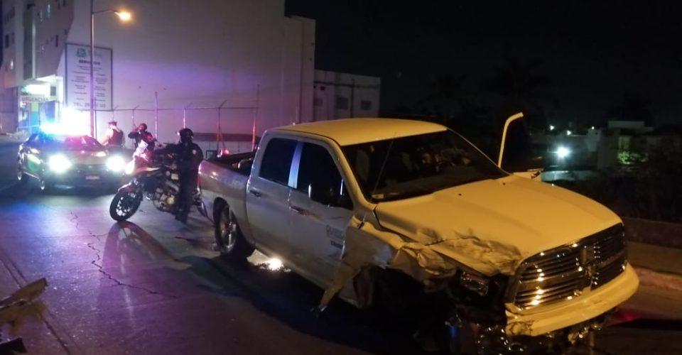 Reportan accidentes viales por la noche en Culiacán tras presencia de Sicarios