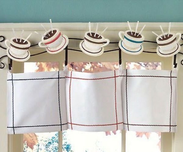 Coffee Themed Kitchen Curtains Design Coffee Themed Kitchen Curtains