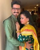Bharti Singh with her husband