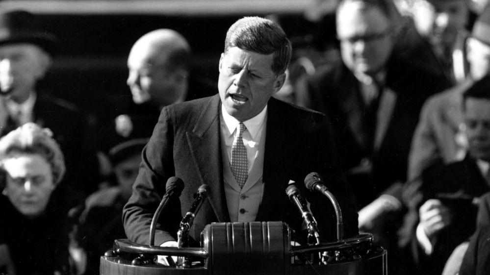 Kennedy's inauguration speech
