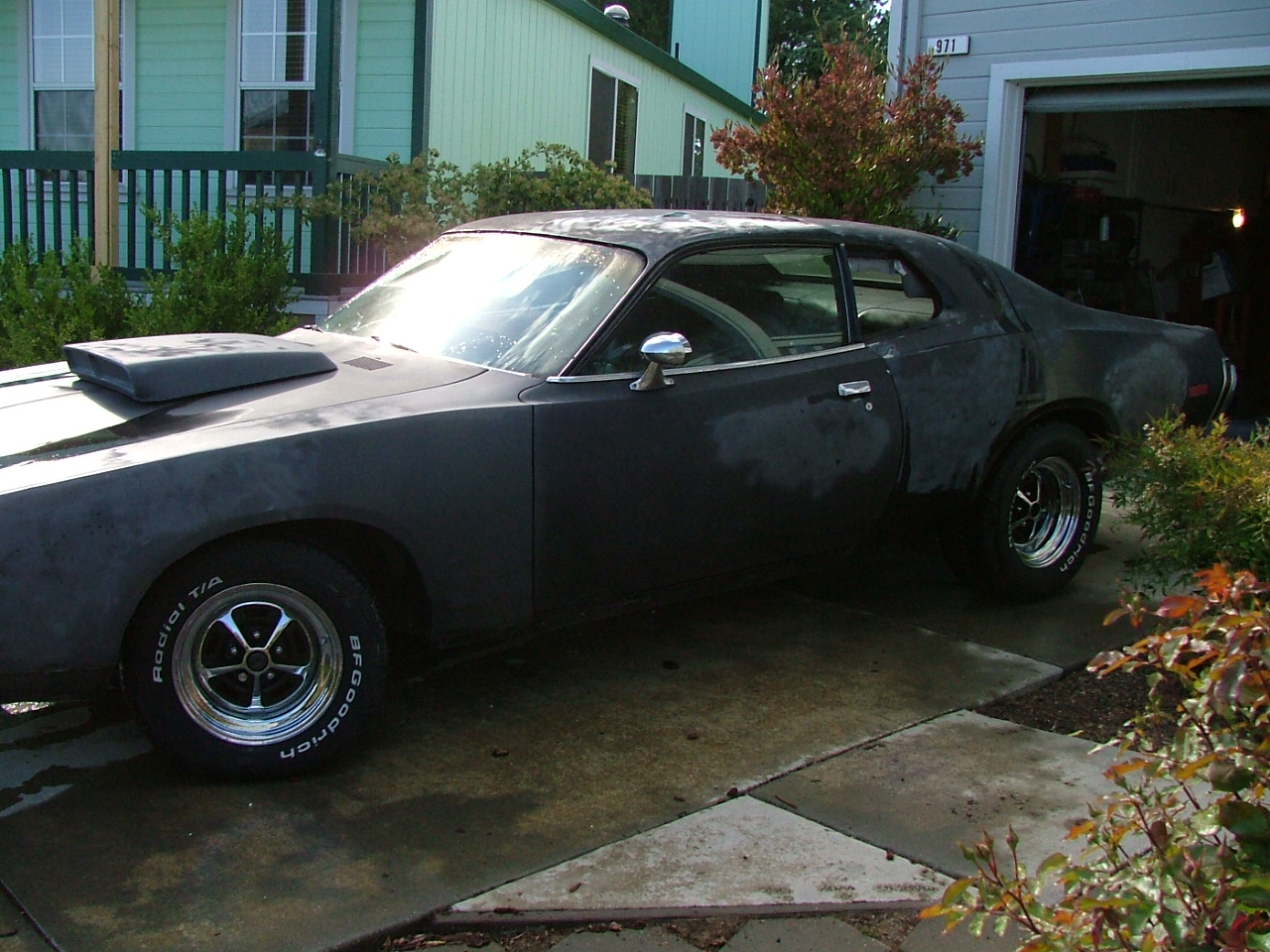 Jeramy Gates Jamie Sedgwick The Official Blog My 73 Dodge 1968 Charger Project Car Burn Notice