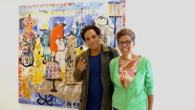 Obra de Miguel Triviñoexposición Binomio Café Galería de Arte La Florida Fotografía Gladys Calzadilla