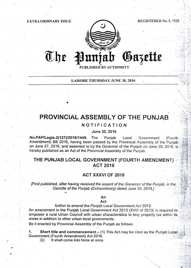 LOCAL GOVERNMENT RULE TO LEVY PROPERY TAX