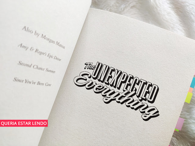 Resenha: The Unexpected Everything