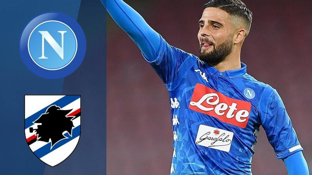 Rojadirecta Napoli Sampdoria Streaming YouTube Facebook Sky, dove vedere Gratis Diretta TV | Calcio Serie A.