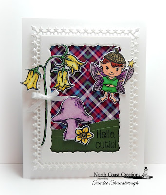 North Coast Creations Stamp Set: Love You Fairy Much, North Coast Creations Custom Dies: Fairies, Our Daily Bread Designs Paper Collection:Boho Bolds, Our Daily Bread Designs Custom Dies: Lavish Layers, Leafy Edged Borders