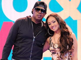 Picture of Tytyana Miller with her father Master P