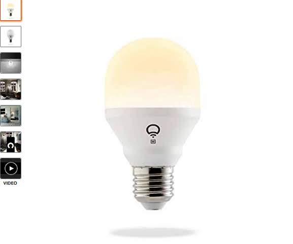 LIFX A19 Mini Wi-Fi Smart Led Light Bulb (Latest Generation)