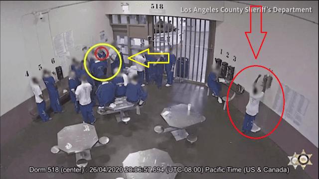بالفيديو... في حادث غريب من نوعه سجناء يصيبون أنفسهم بفيروس كورونا عمدا والسبب؟ | أخباري اونلاين