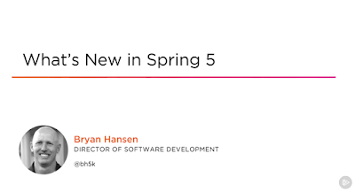 best course to learn Spring 5 features