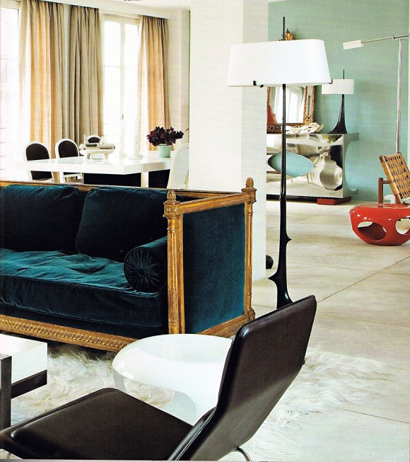 friday eye candy herve van der straeten 39 s home an interior design. Black Bedroom Furniture Sets. Home Design Ideas