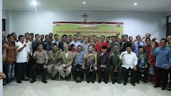 Jelang Nataru, Kapolresta Tangerang dan Forkopimda Bersilaturahmi dengan Pimpinan Gereja