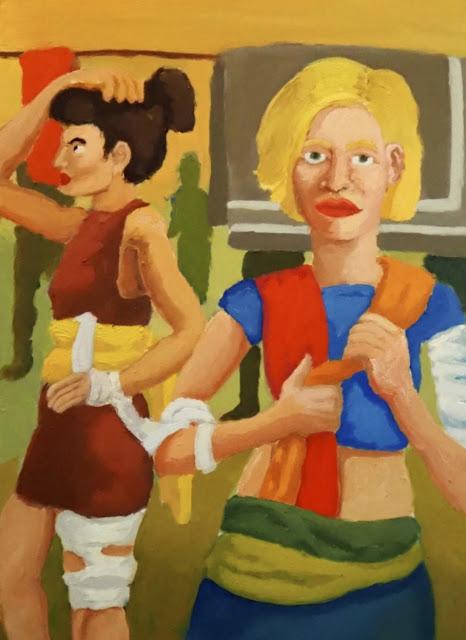 """""""The Golden Thread"""" - The Art of Sandro Sebastian"""