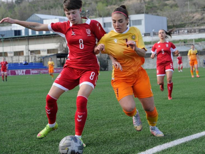 Football Federation of Armenia hosted  women's international friendly tournament