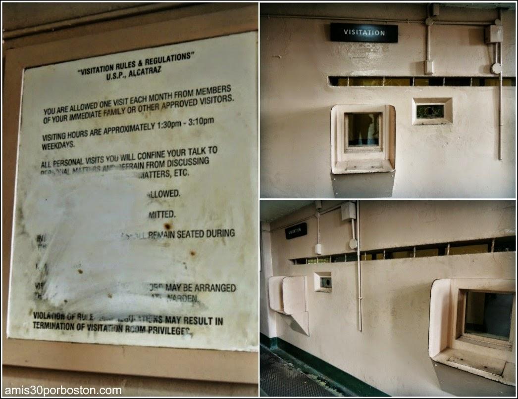 La Prisión de Alcatraz: Sala de Visita
