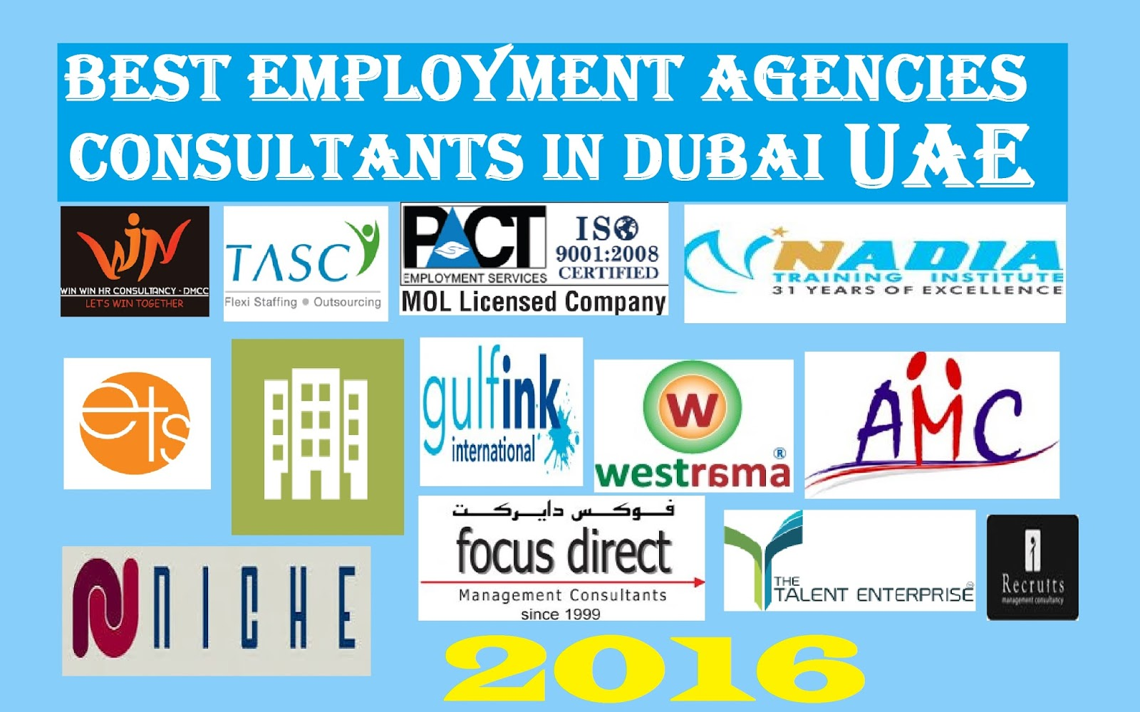 employment agencies and consultants in uae 2016 uaewikipedia rh top10dubai blogspot com