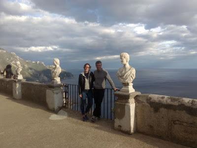 vistas-mar-desde-terraza-villa-cimbrone-en ravello-italia-enlacima