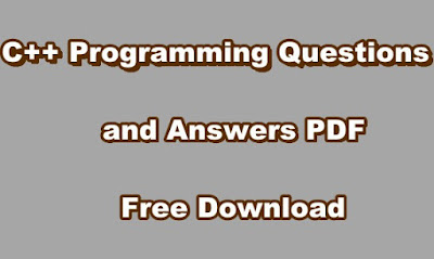 C++ Programming Questions and Answers PDF Free Download