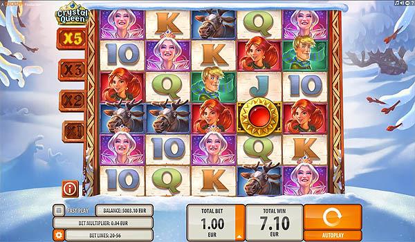 Main Slot Gratis Indonesia - Crystal Queen (Quickspin)