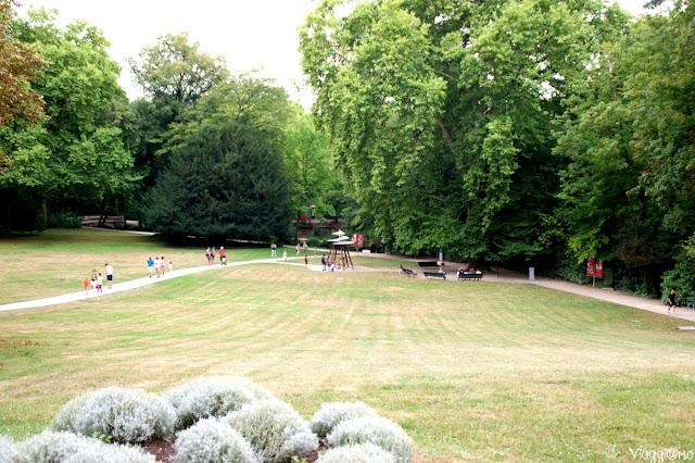 Il parco di Leonardo Da Vinci nel maniero di Le Clos Lucé