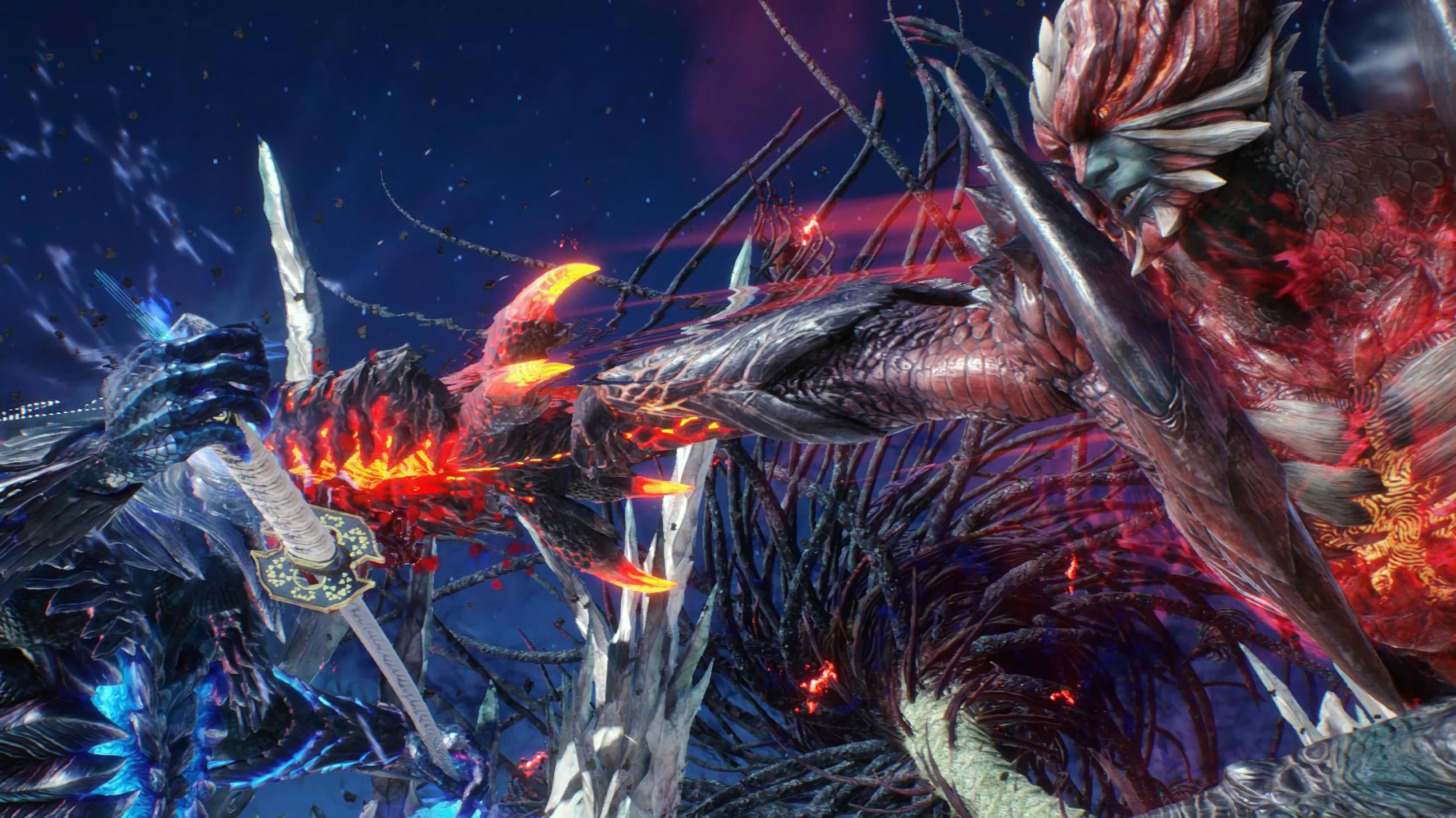 Dante vs. Vergil, Devil Trigger, Devil May Cry 5, 4K, #118 ...