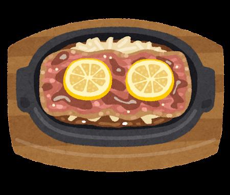 レモンステーキのイラスト