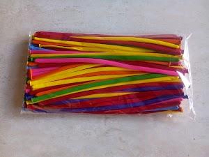 Balon Twist / Balon Pentil Warna Warni