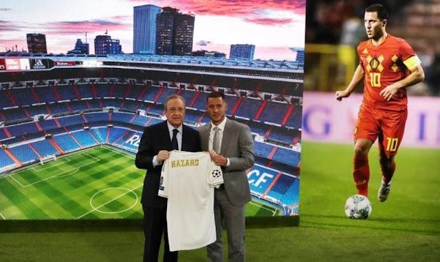 إيدن هازارد لاعب ريال مدريد يغيب بسبب الاصابة بالفخذ