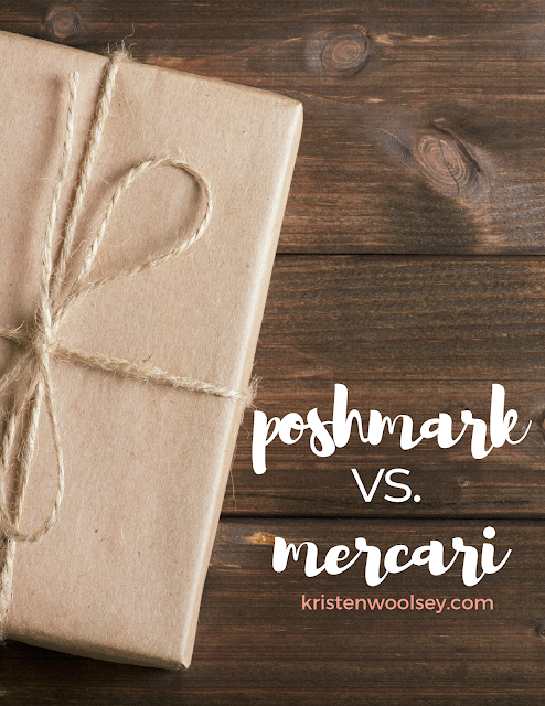 Mercair Versus Poshmark | Which resale platform is better? | www.kristenwoolsey.com