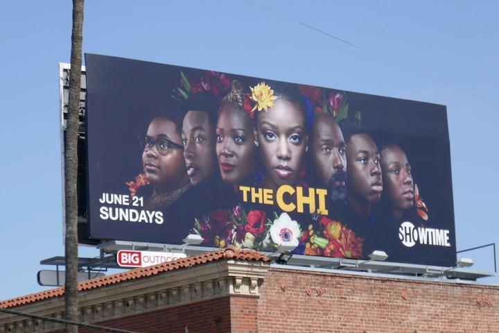 The Chi season 3 billboard
