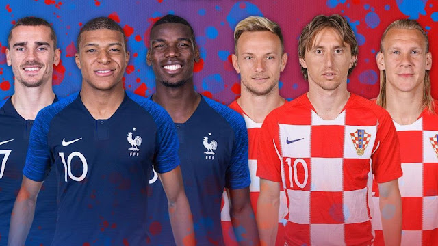 France vs Croatia at Luzhniki Stadium, Moscow - Russia on July 15, 2018 @ 5:00 PM GMT+2; 2018 FIFA World Cup Final