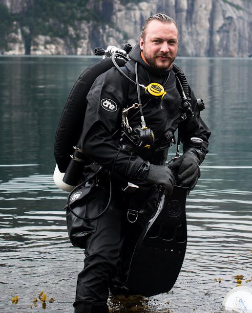 Fredrik Myhre fra WWF (Verdens naturfond).  Foto: Monica Larsen