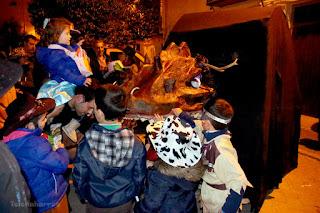 El monstruo de la Tarasca regresa para San Blas