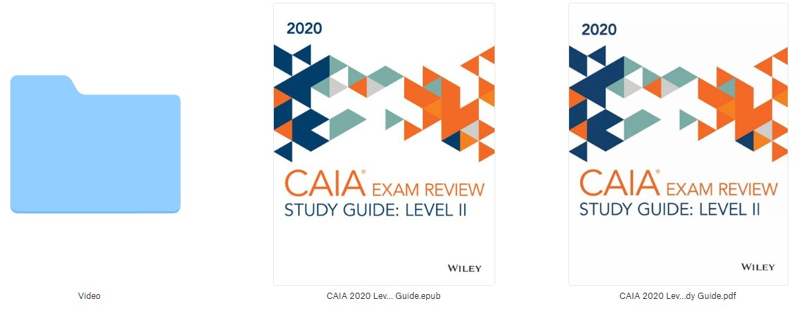 CAIA Level 1 Examination | 1 Page Study Guide - Blogger