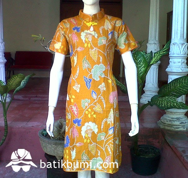 Dress Batik Cheongsam DB053