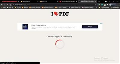 Gambar ilustrasi Converting file PDF ke Word