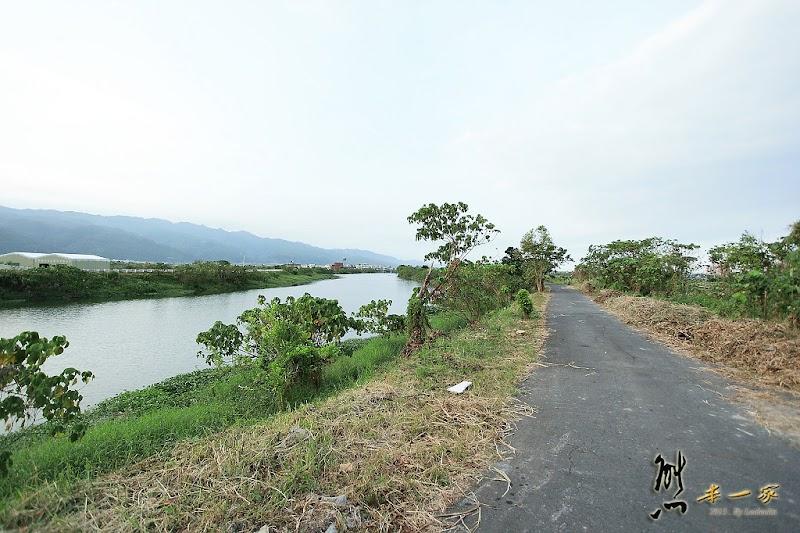 二龍河畔自行車道|宜蘭礁溪單車遊