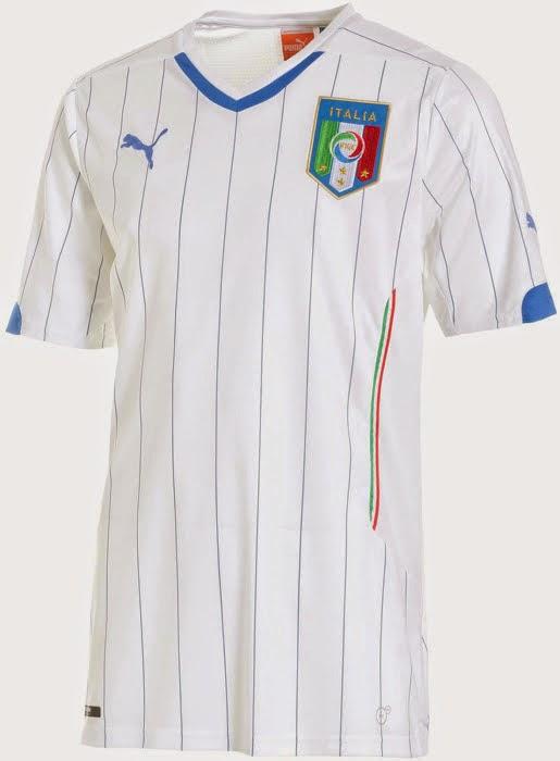 d4fdd12839836 Futebol e Camisas  Camisa da Itália 2014